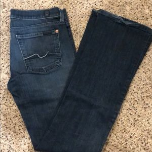 7 for all mankind - bootcut jeans 27